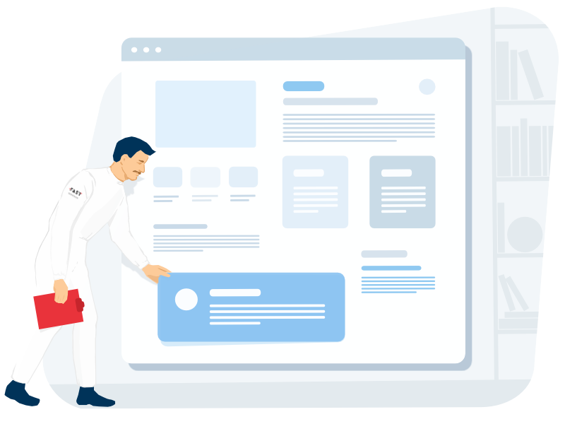 redesign services is used for building the wireframes and mockups, as a result will can evaluate an update on the early stages