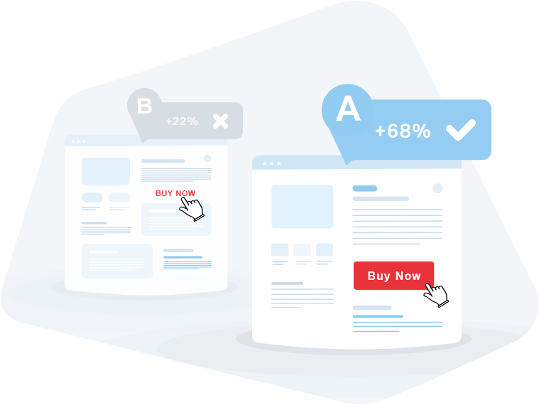 A/B testing will evaluate the effectiveness of the updated product